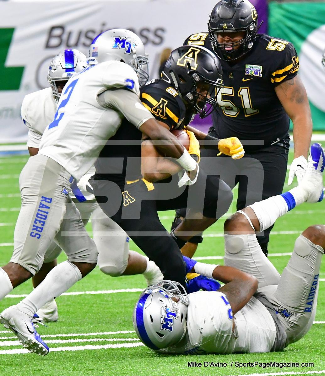 NCAA Football; Appalachian State 43 vs. Middle Tennessee 13 - Photo # (249)