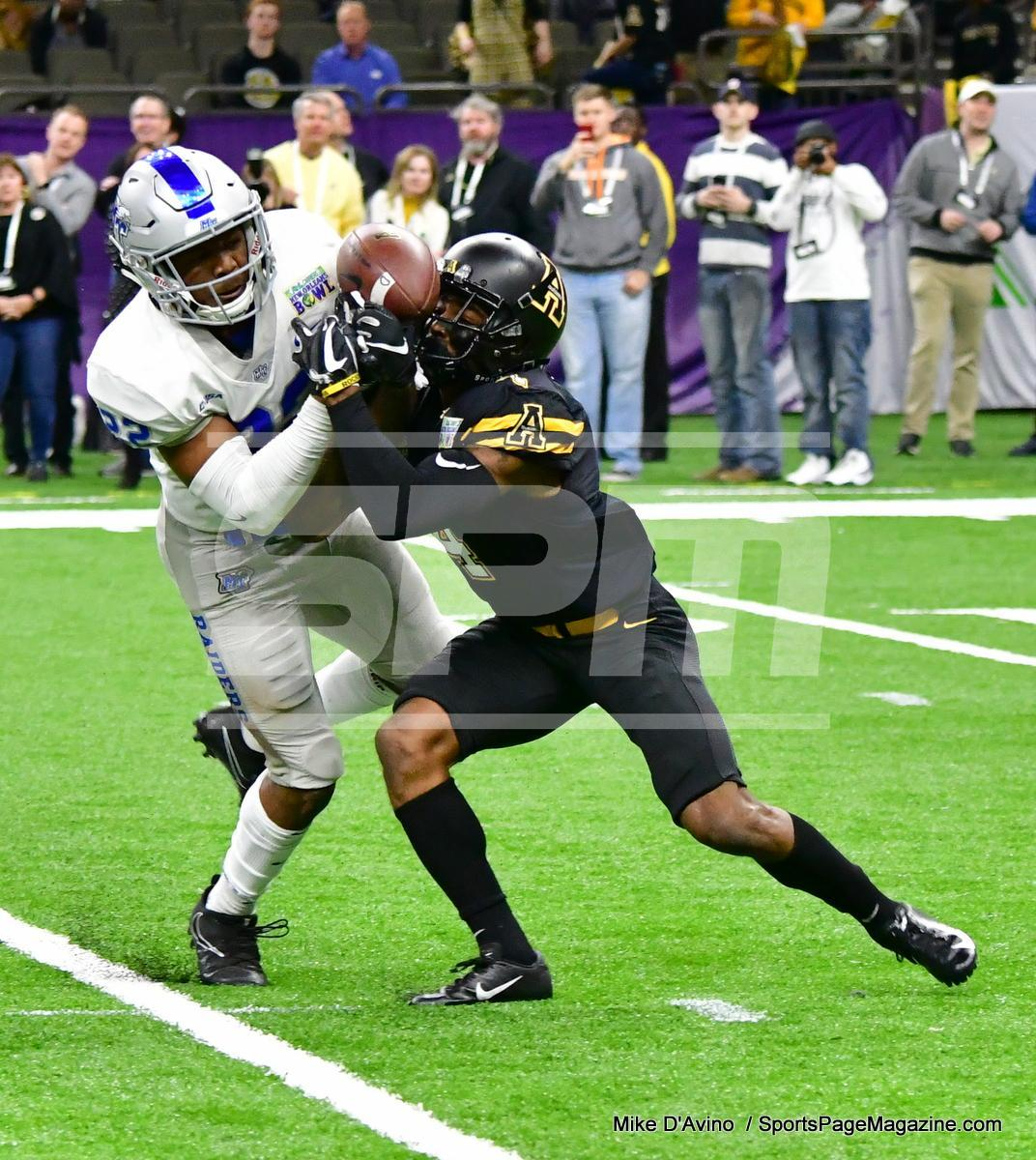 NCAA Football; Appalachian State 43 vs. Middle Tennessee 13 - Photo # (254)