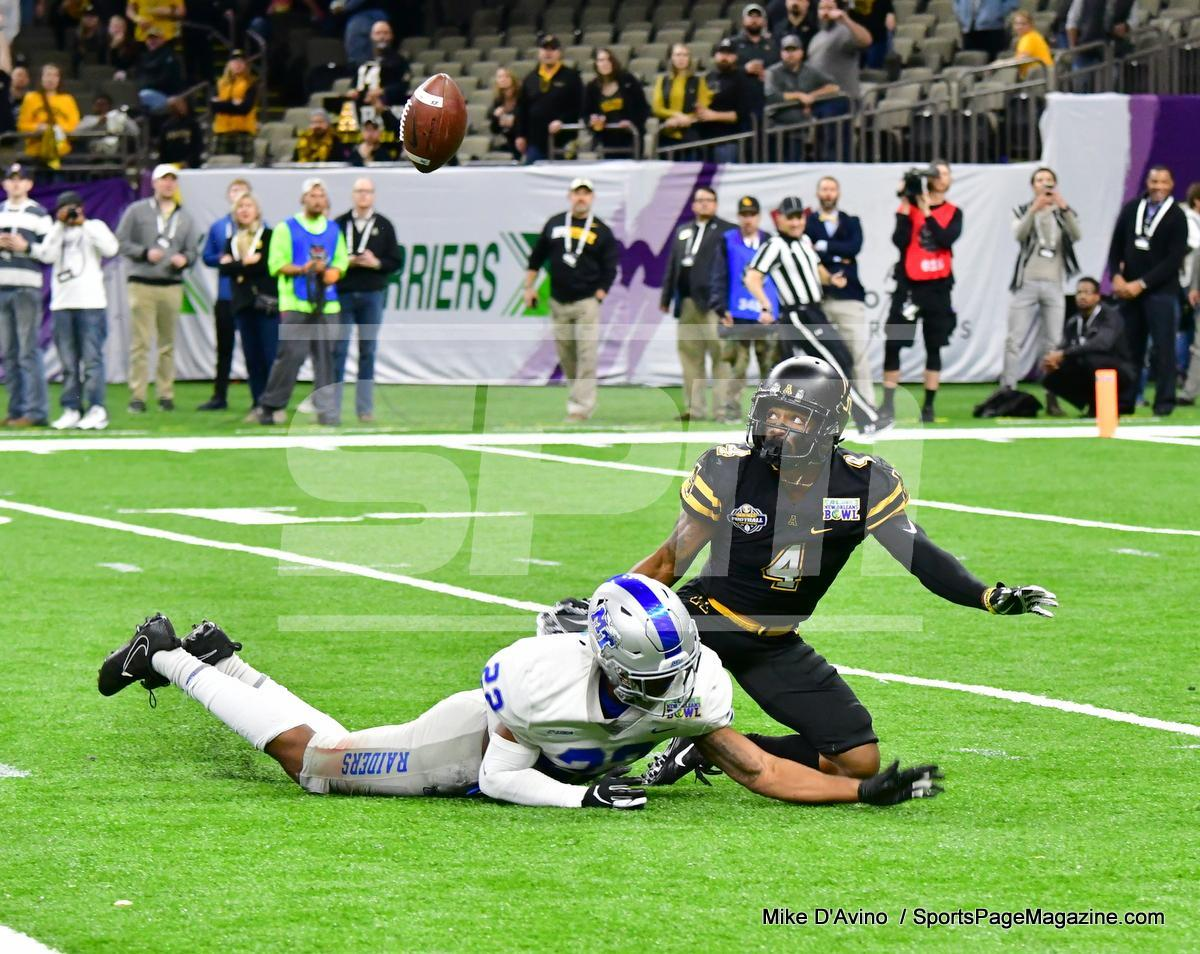 NCAA Football; Appalachian State 43 vs. Middle Tennessee 13 - Photo # (255)