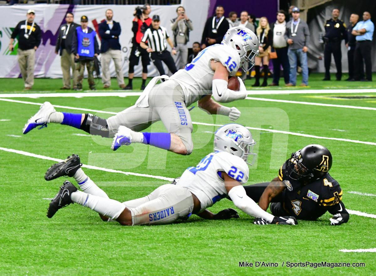 NCAA Football; Appalachian State 43 vs. Middle Tennessee 13 - Photo # (257)