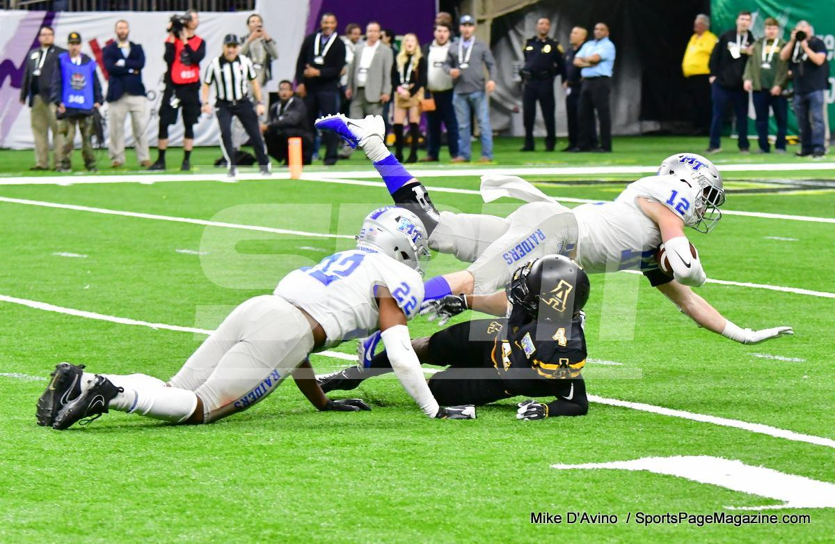 NCAA Football; Appalachian State 43 vs. Middle Tennessee 13 - Photo # (258)