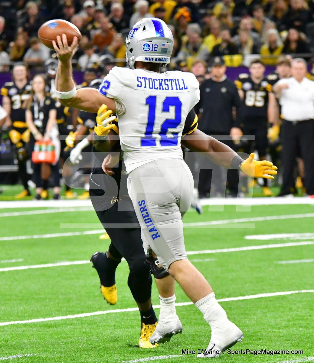 NCAA Football; Appalachian State 43 vs. Middle Tennessee 13 - Photo # (266)