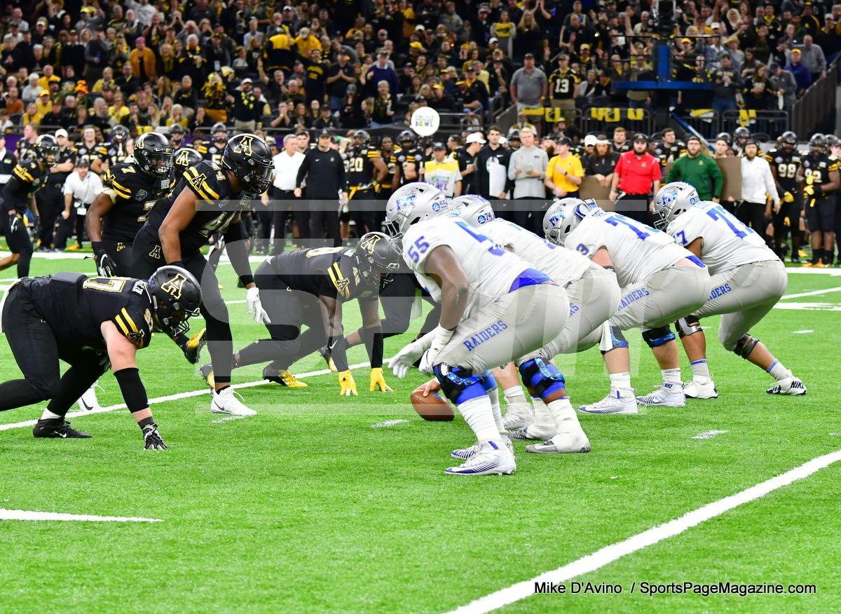 NCAA Football; Appalachian State 43 vs. Middle Tennessee 13 - Photo # (267)