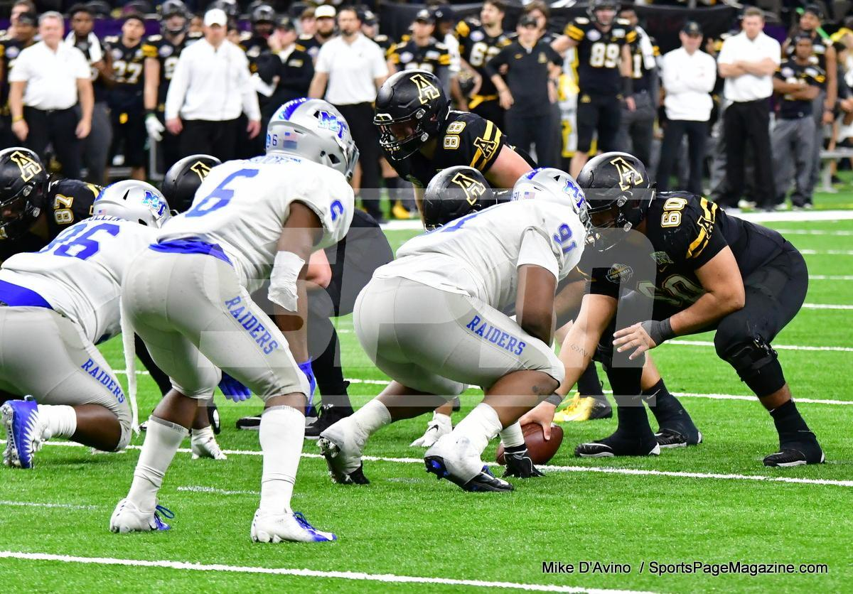 NCAA Football; Appalachian State 43 vs. Middle Tennessee 13 - Photo # (277)