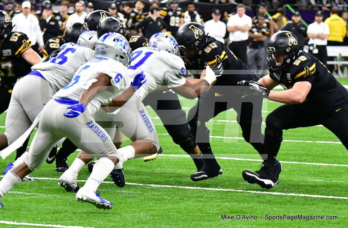 NCAA Football; Appalachian State 43 vs. Middle Tennessee 13 - Photo # (278)