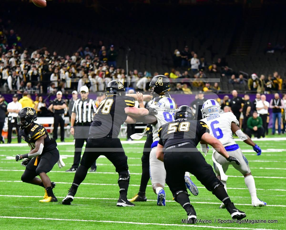 NCAA Football; Appalachian State 43 vs. Middle Tennessee 13 - Photo # (280)