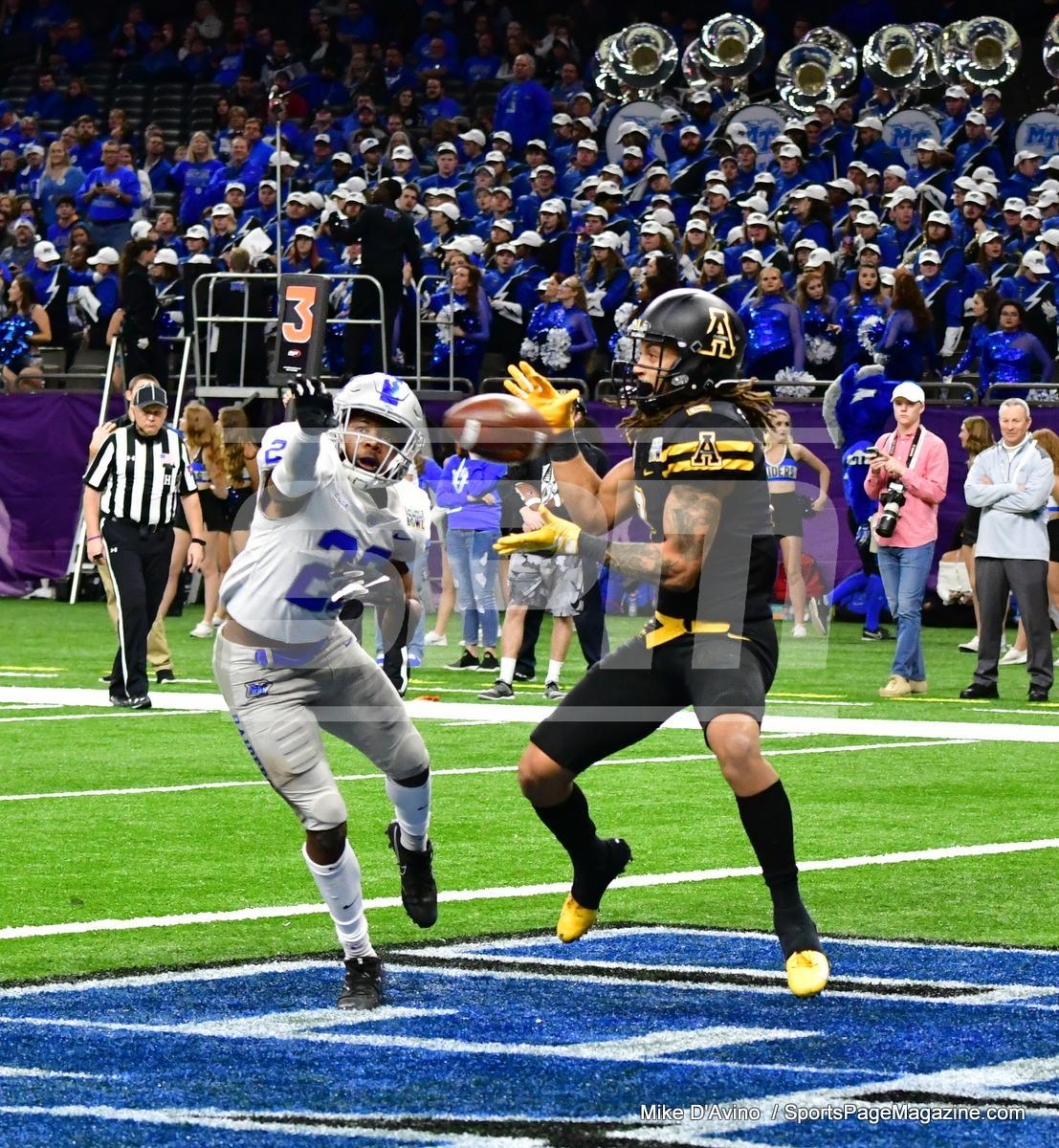 NCAA Football; Appalachian State 43 vs. Middle Tennessee 13 - Photo # (284)