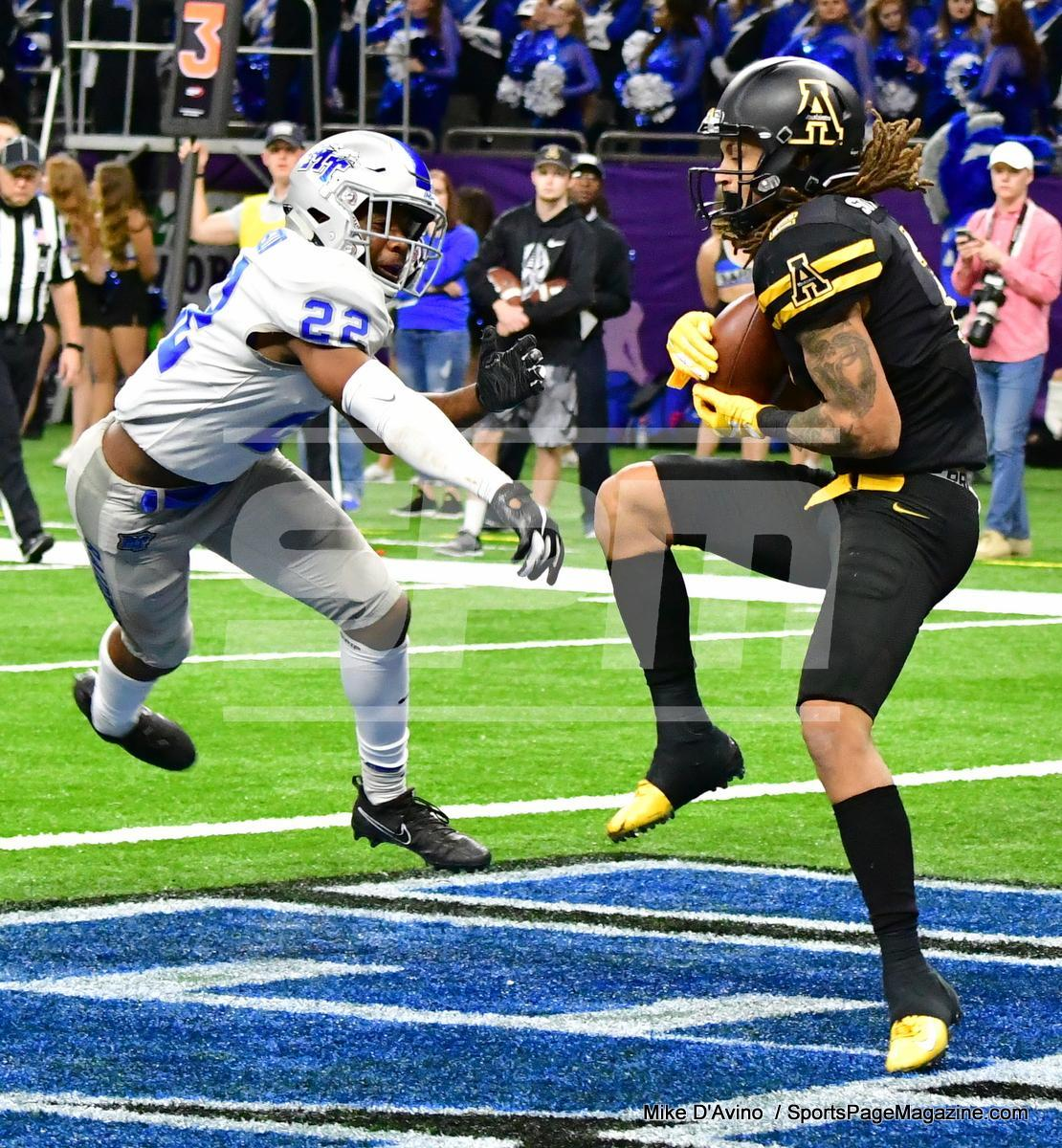 NCAA Football; Appalachian State 43 vs. Middle Tennessee 13 - Photo # (285)