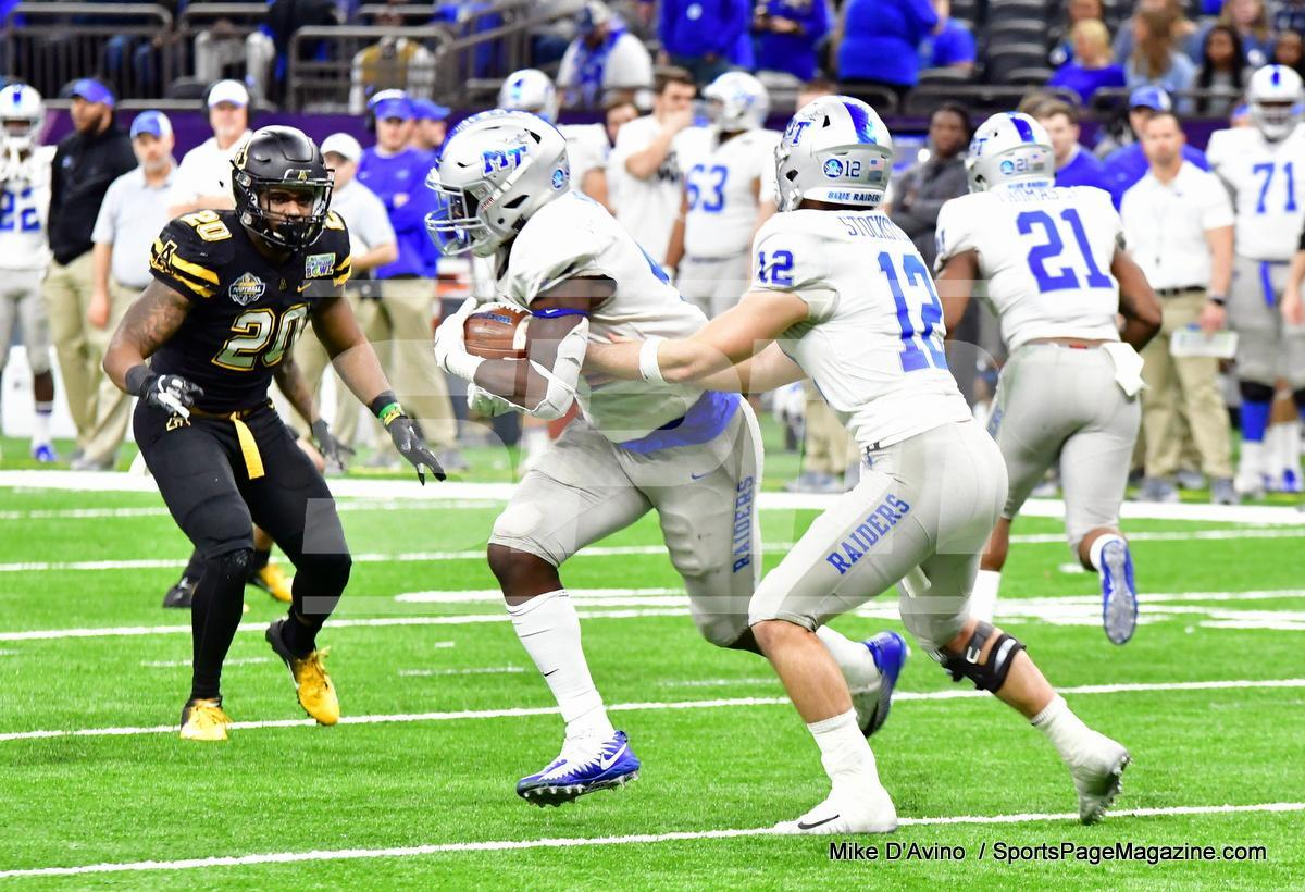 NCAA Football; Appalachian State 43 vs. Middle Tennessee 13 - Photo # (295)