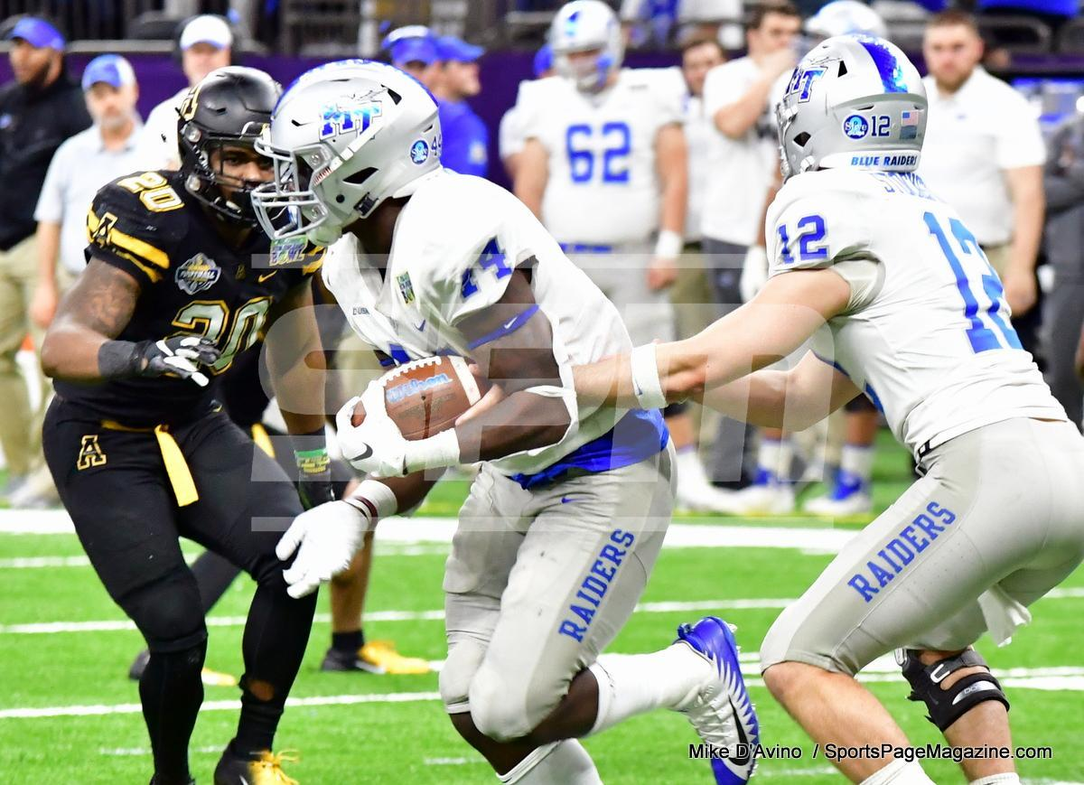 NCAA Football; Appalachian State 43 vs. Middle Tennessee 13 - Photo # (296)