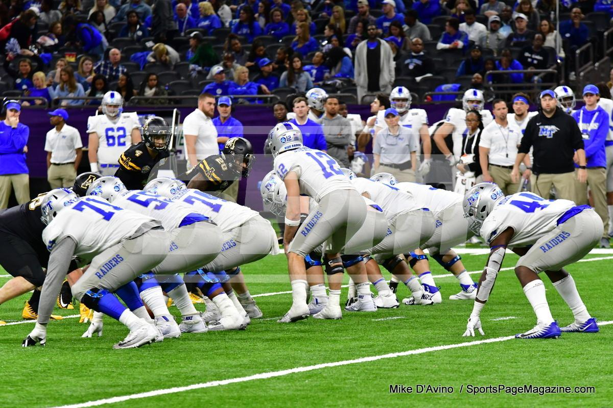 NCAA Football; Appalachian State 43 vs. Middle Tennessee 13 - Photo # (301)
