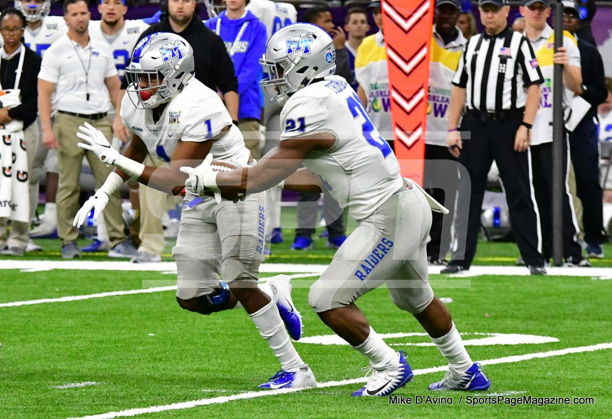 NCAA Football; Appalachian State 43 vs. Middle Tennessee 13 - Photo # (302)