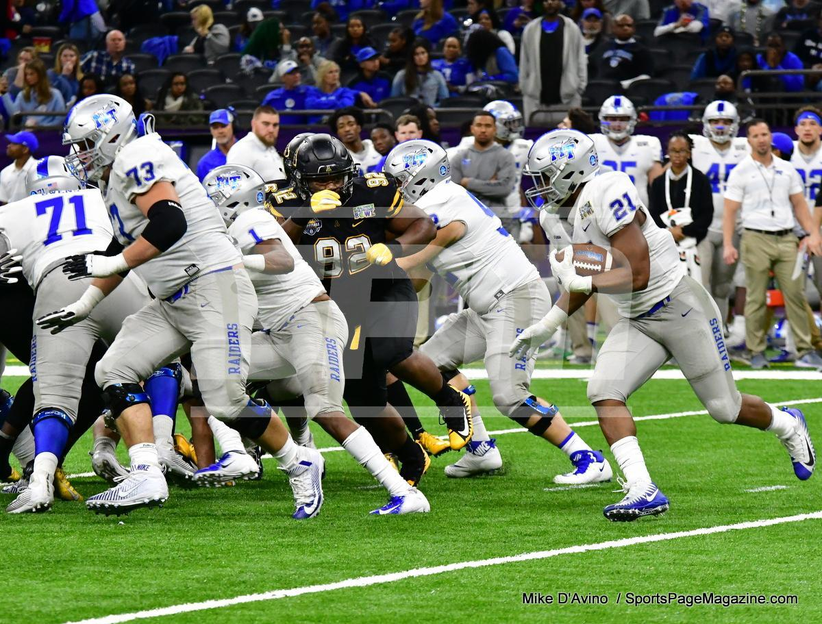 NCAA Football; Appalachian State 43 vs. Middle Tennessee 13 - Photo # (303)