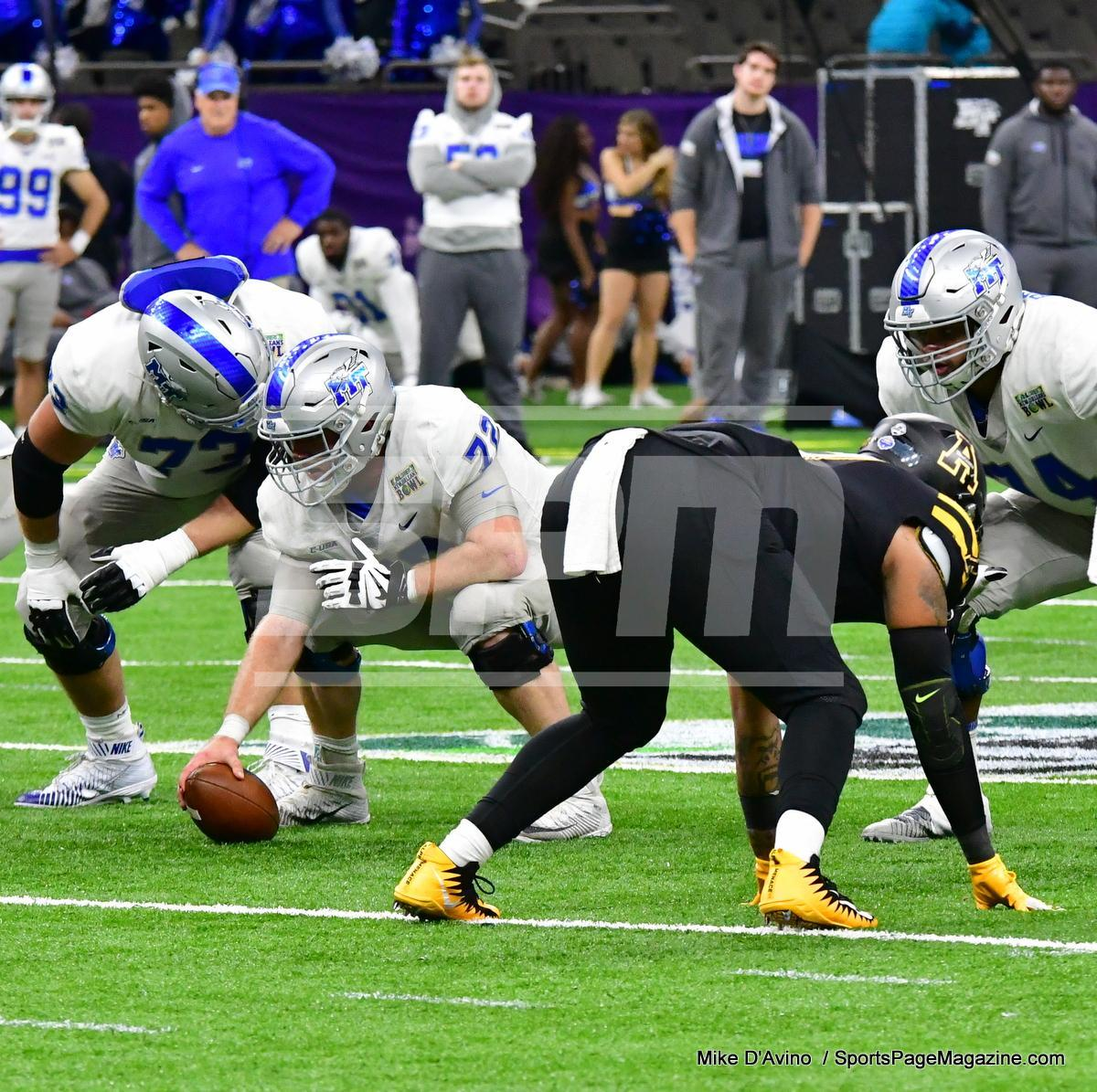NCAA Football; Appalachian State 43 vs. Middle Tennessee 13 - Photo # (306)