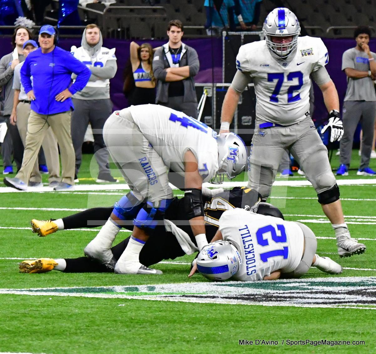 NCAA Football; Appalachian State 43 vs. Middle Tennessee 13 - Photo # (309)