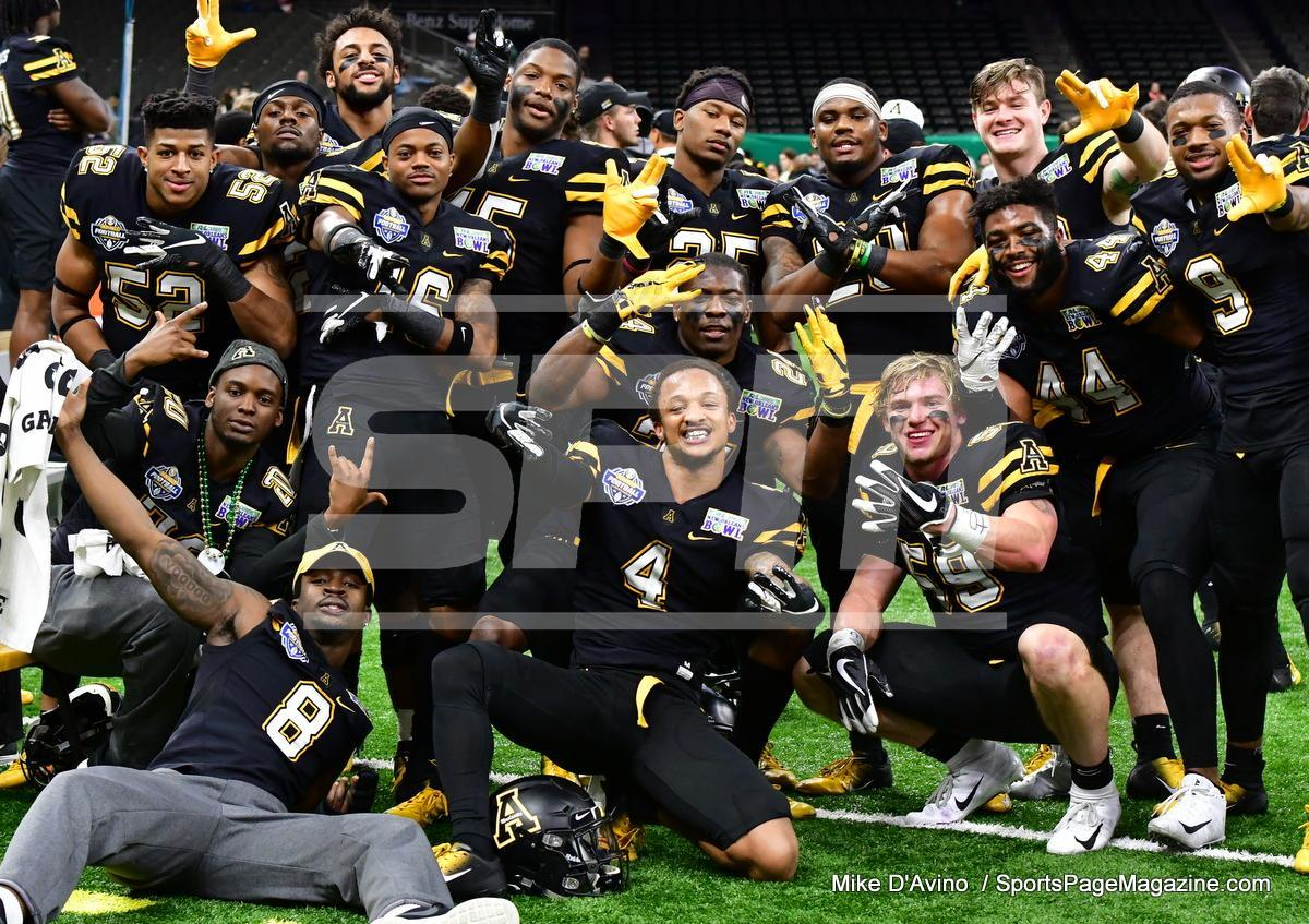 NCAA Football; Appalachian State 43 vs. Middle Tennessee 13 - Photo # (310)