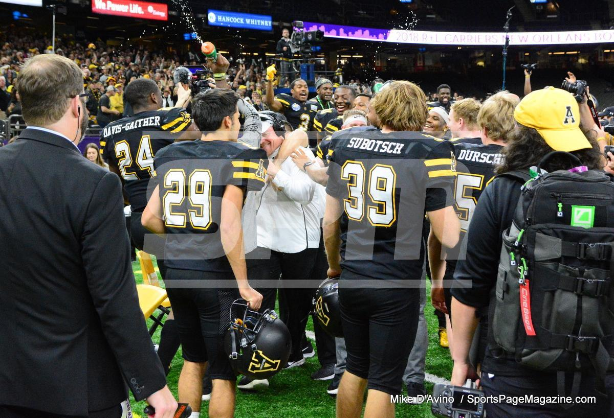 NCAA Football; Appalachian State 43 vs. Middle Tennessee 13 - Photo # (316)