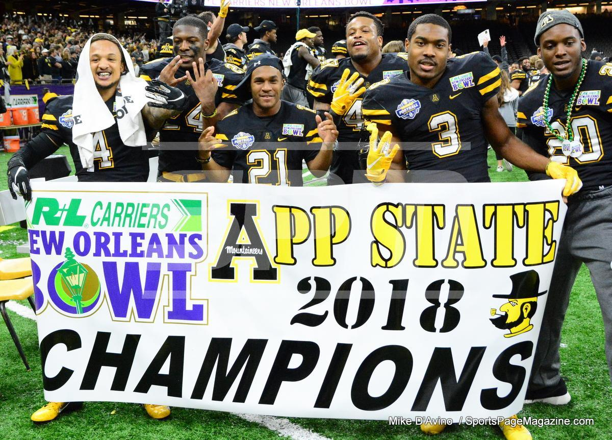 NCAA Football; Appalachian State 43 vs. Middle Tennessee 13 - Photo # (318)
