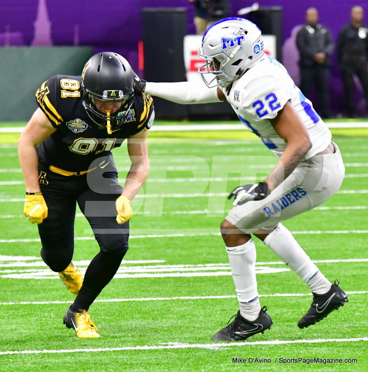 NCAA Football; Appalachian State 43 vs. Middle Tennessee 13 - Photo # (319)