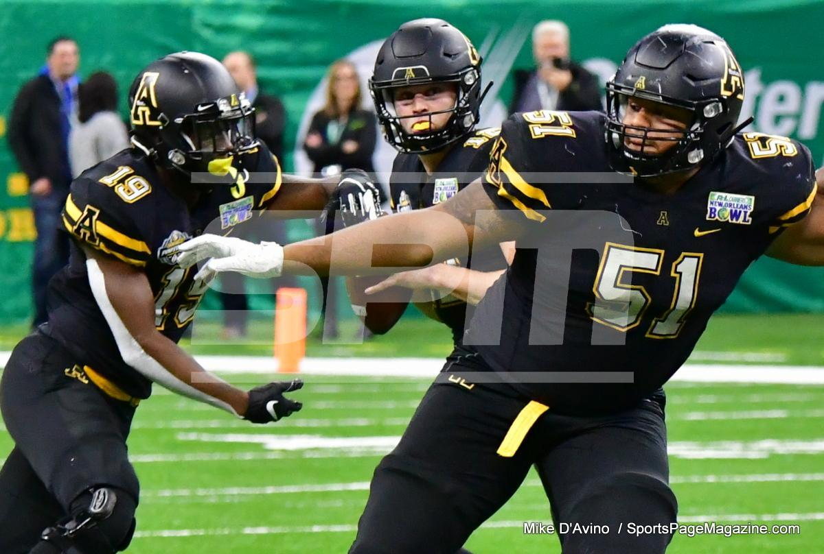 NCAA Football; Appalachian State 43 vs. Middle Tennessee 13 - Photo # (320)