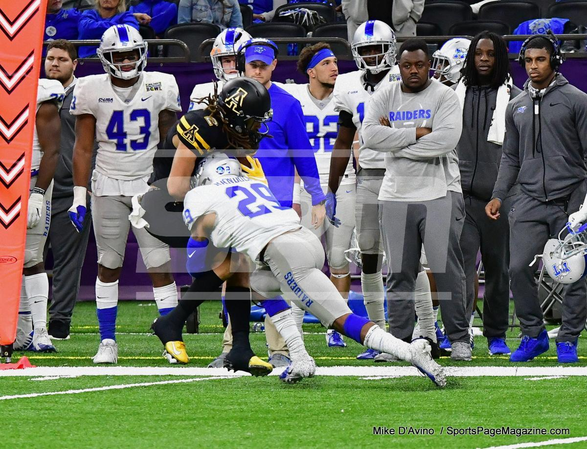 NCAA Football; Appalachian State 43 vs. Middle Tennessee 13 - Photo # (322)