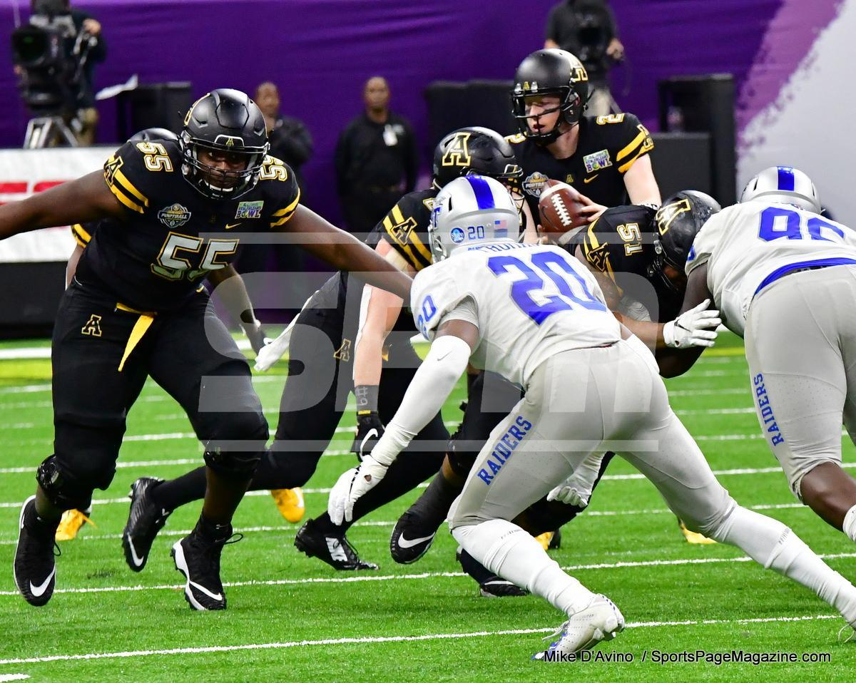 NCAA Football; Appalachian State 43 vs. Middle Tennessee 13 - Photo # (326)