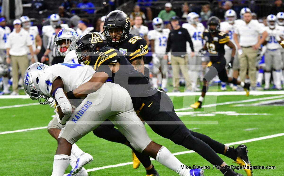 NCAA Football; Appalachian State 43 vs. Middle Tennessee 13 - Photo # (331)