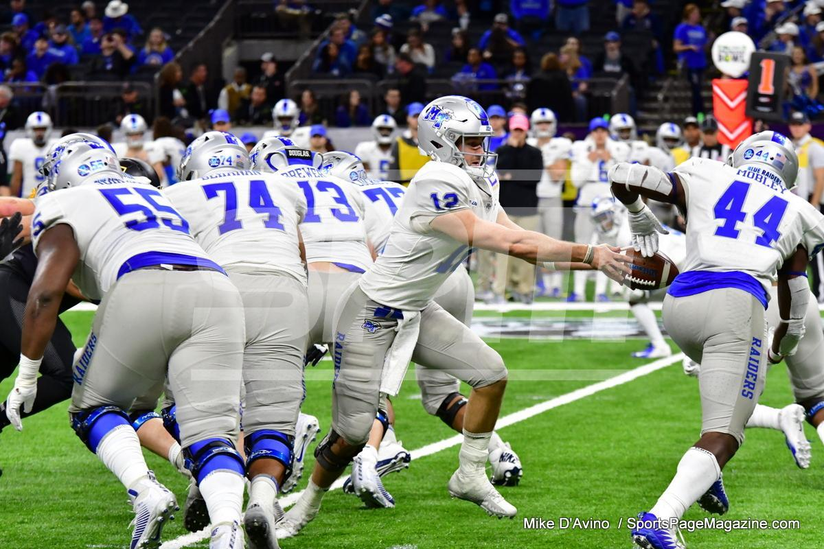 NCAA Football; Appalachian State 43 vs. Middle Tennessee 13 - Photo # (333)
