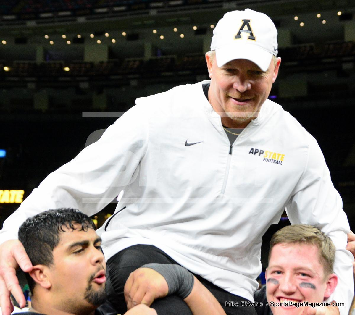 NCAA Football; Appalachian State 43 vs. Middle Tennessee 13 - Photo # (338)