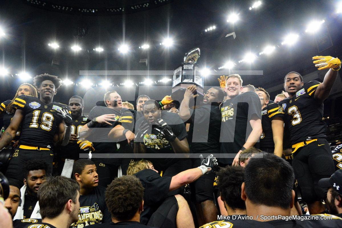 NCAA Football; Appalachian State 43 vs. Middle Tennessee 13 - Photo # (376)