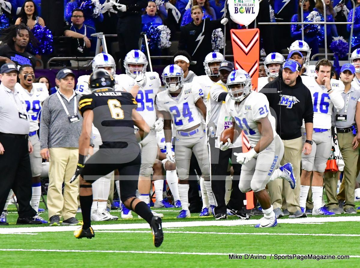 NCAA Football; Appalachian State 43 vs. Middle Tennessee 13 - Photo # (55)