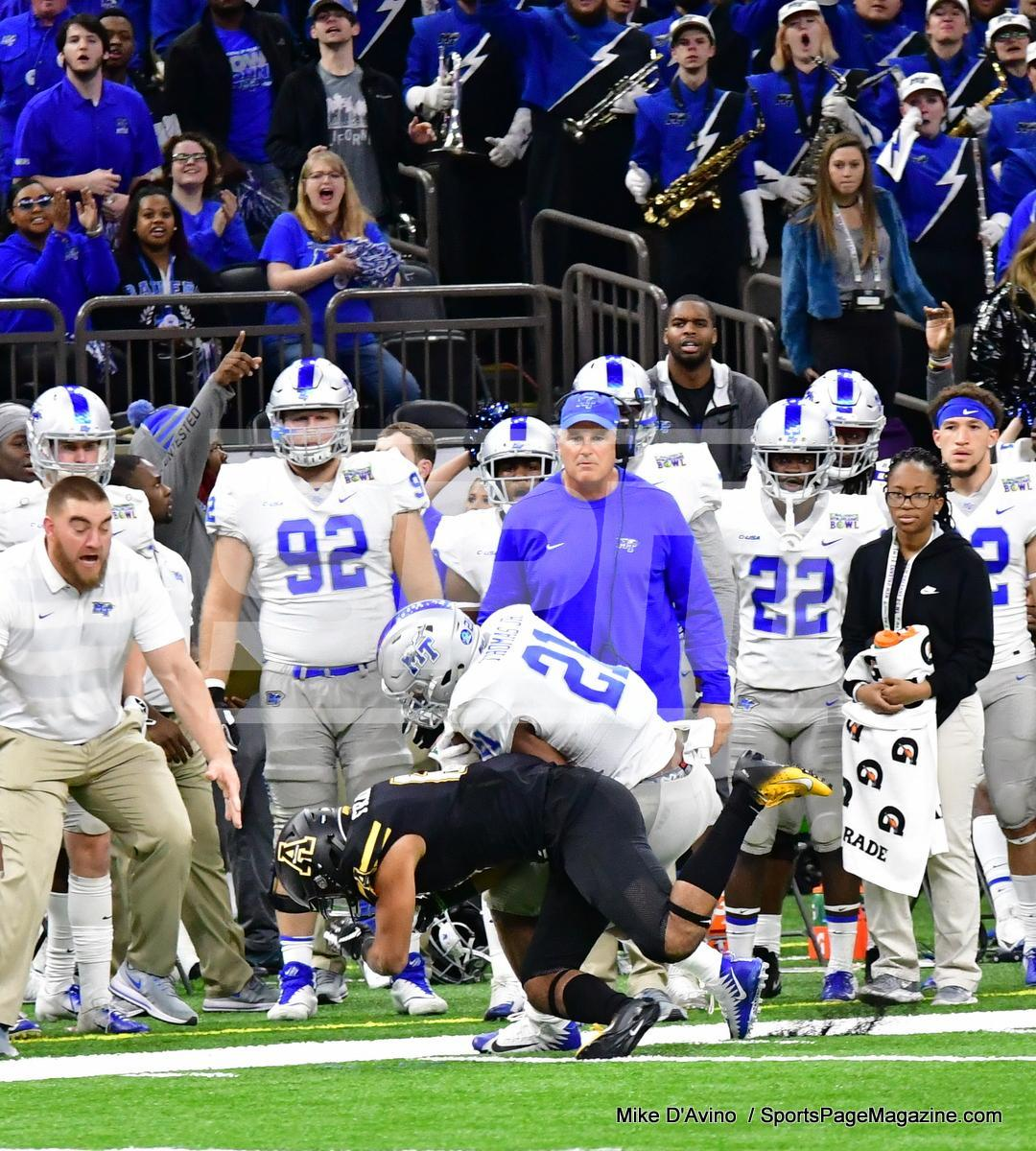 NCAA Football; Appalachian State 43 vs. Middle Tennessee 13 - Photo # (56)