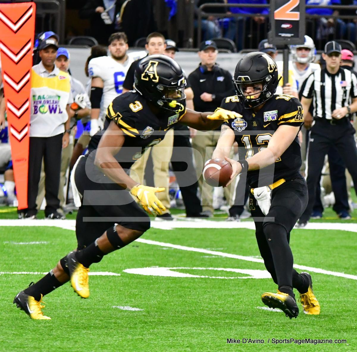 NCAA Football; Appalachian State 43 vs. Middle Tennessee 13 - Photo # (70)