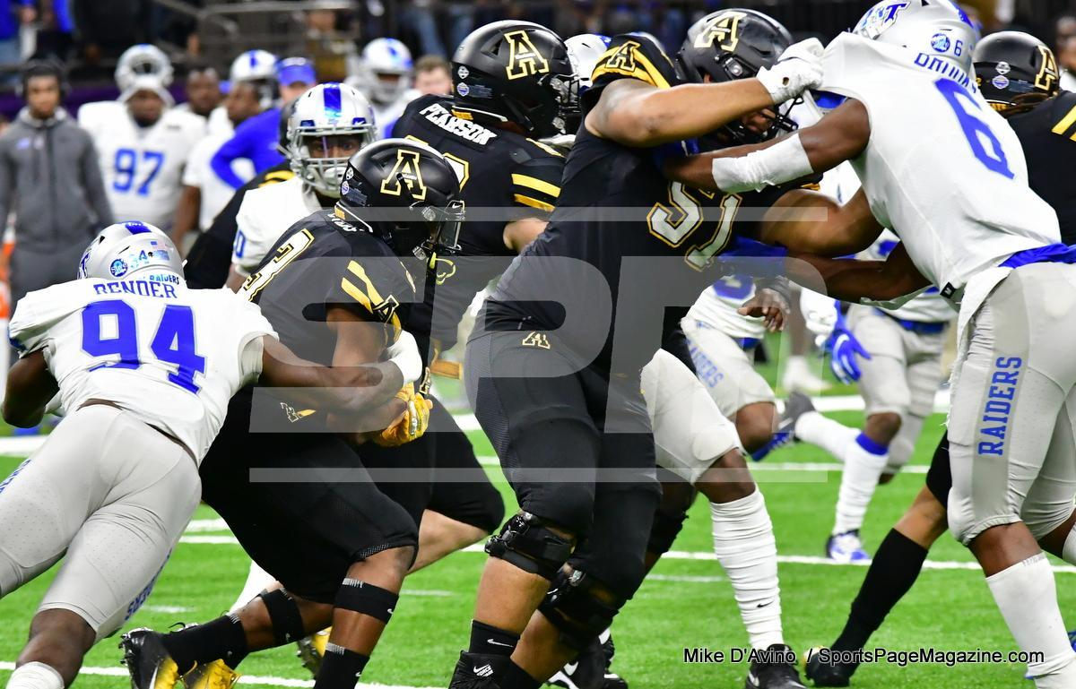 NCAA Football; Appalachian State 43 vs. Middle Tennessee 13 - Photo # (72)