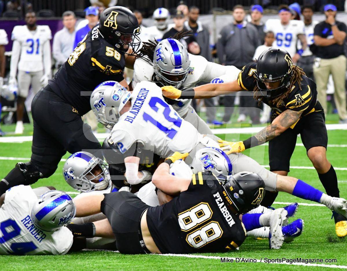 NCAA Football; Appalachian State 43 vs. Middle Tennessee 13 - Photo # (74)