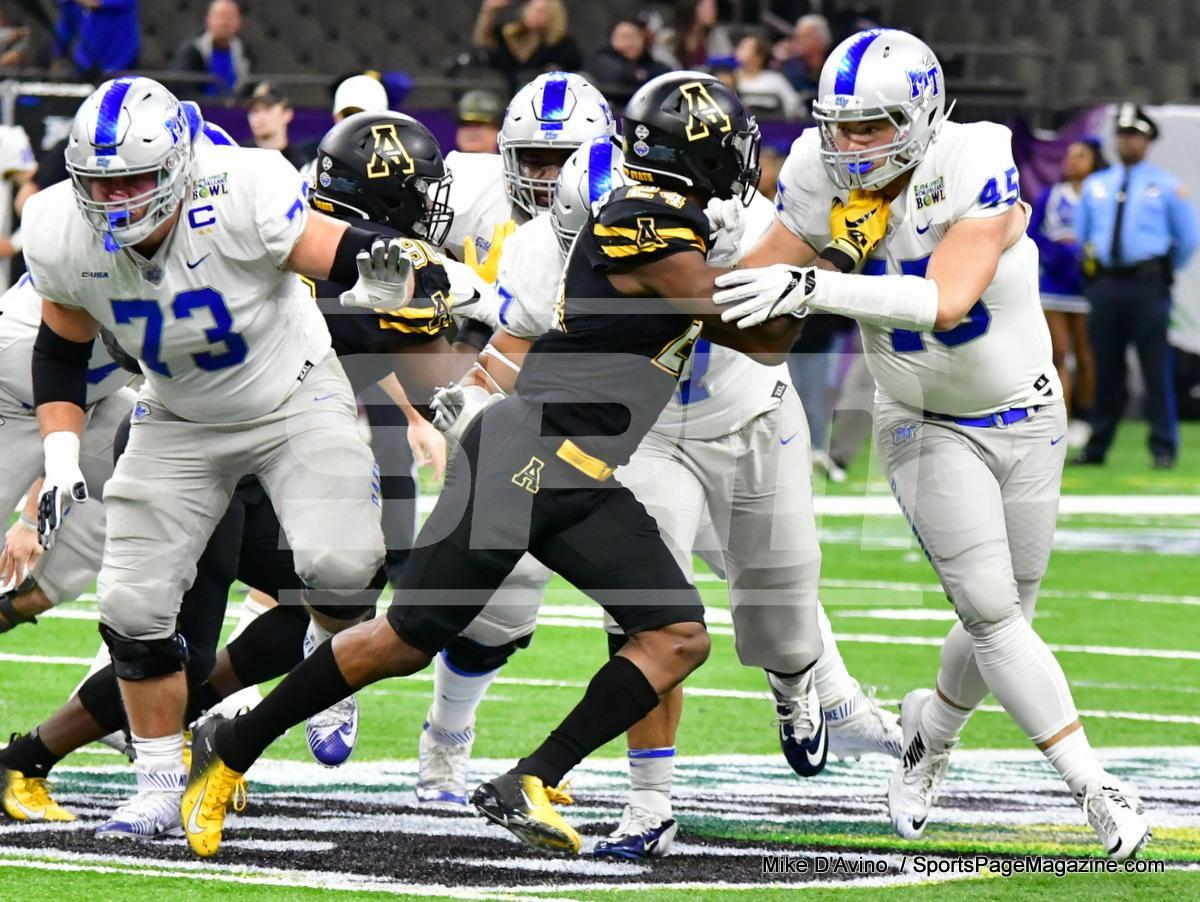 NCAA Football; Appalachian State 43 vs. Middle Tennessee 13 - Photo # (77)