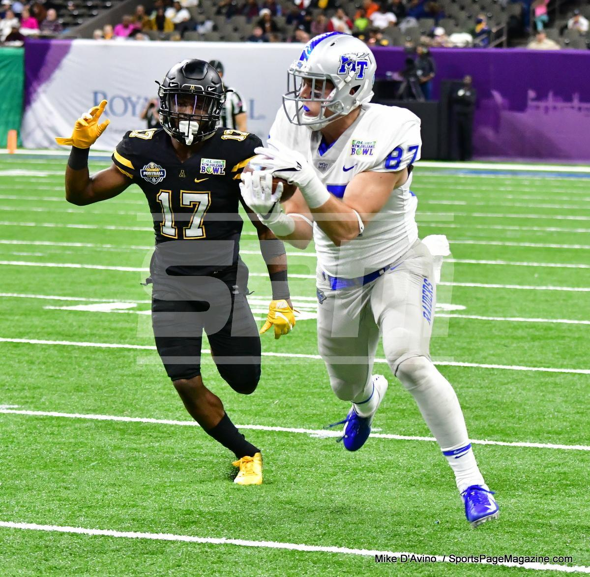 NCAA Football; Appalachian State 43 vs. Middle Tennessee 13 - Photo # (80)