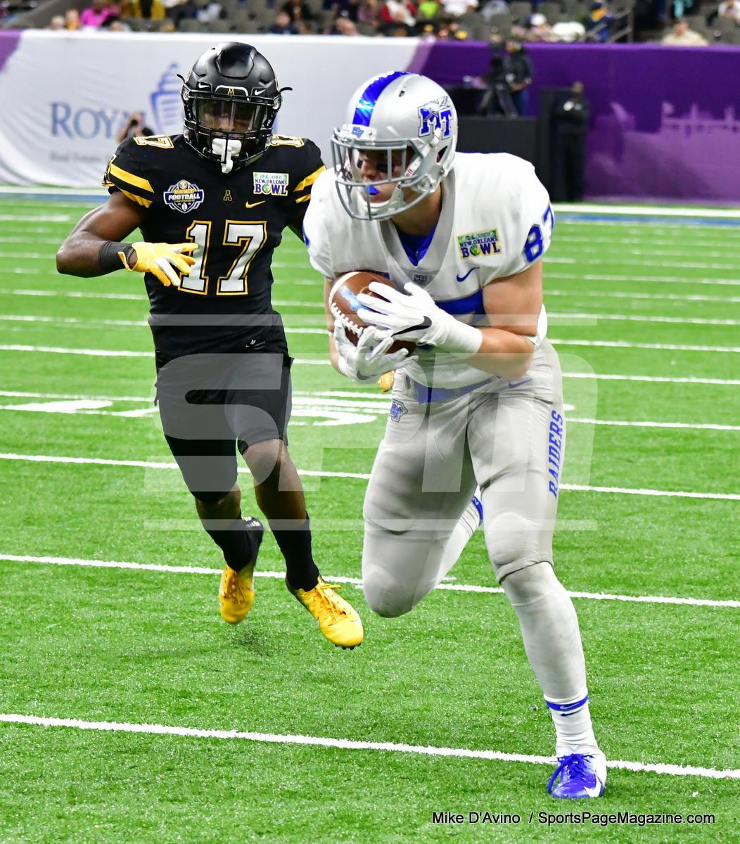 NCAA Football; Appalachian State 43 vs. Middle Tennessee 13 - Photo # (81)