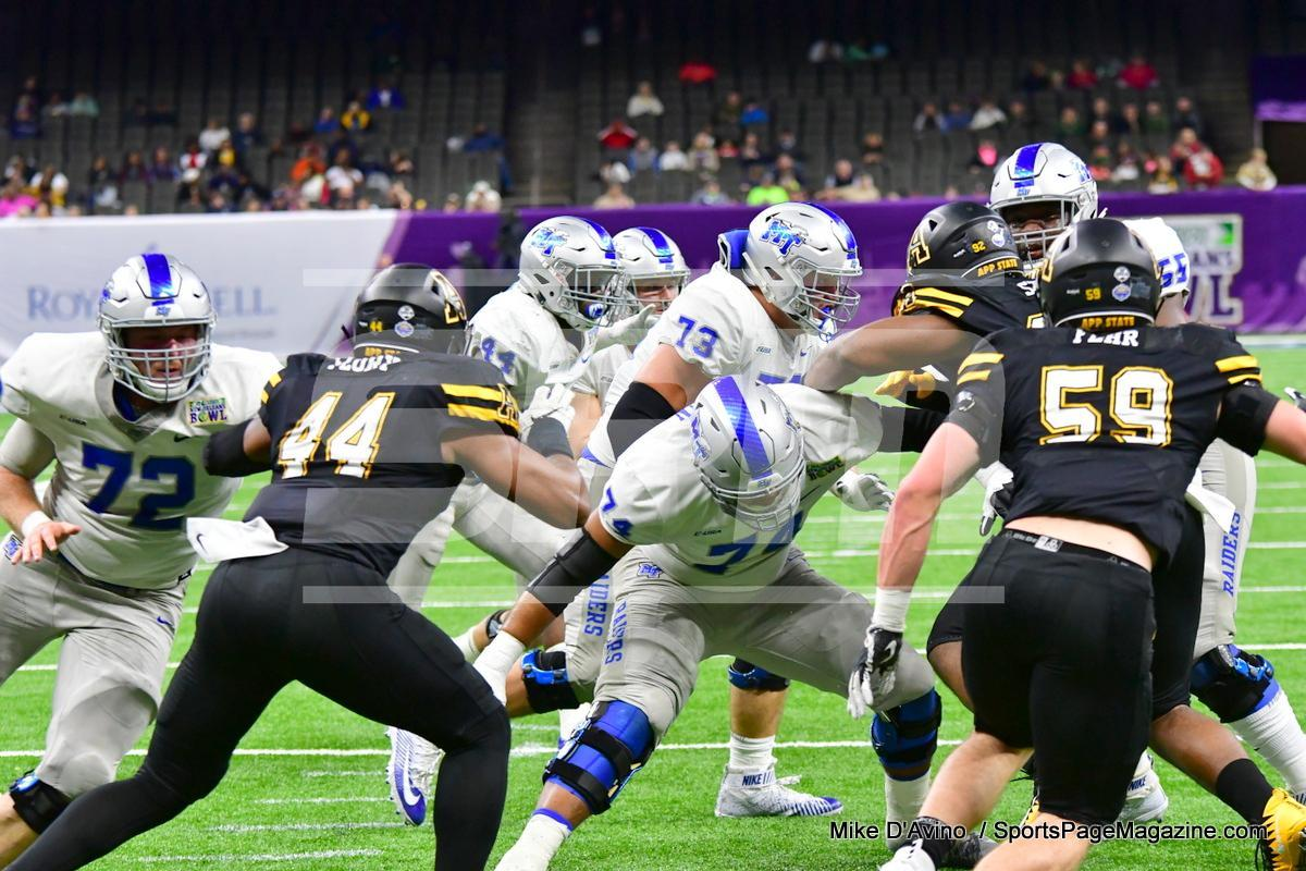 NCAA Football; Appalachian State 43 vs. Middle Tennessee 13 - Photo # (87)