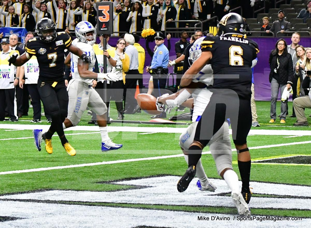 NCAA Football; Appalachian State 43 vs. Middle Tennessee 13 - Photo # (92)