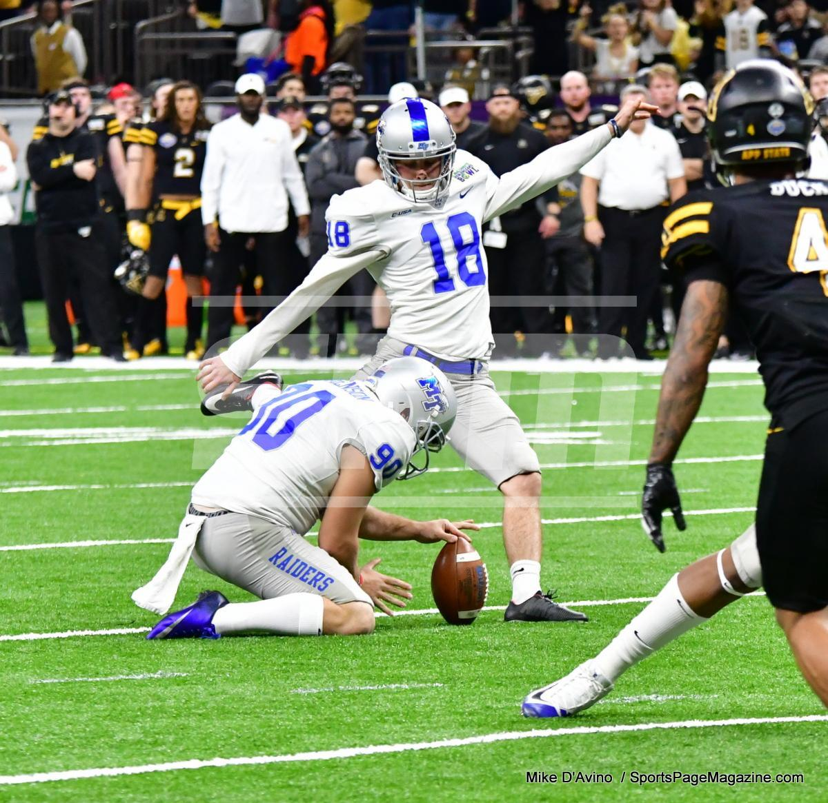 NCAA Football; Appalachian State 43 vs. Middle Tennessee 13 - Photo # (93)