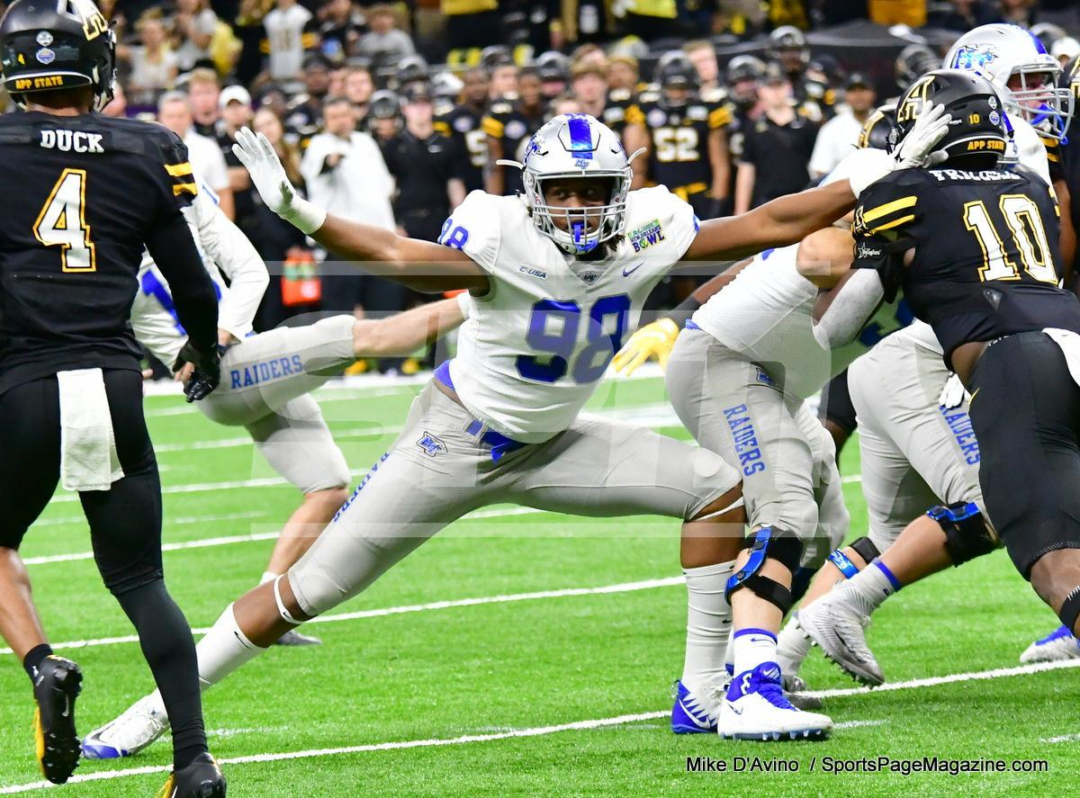 NCAA Football; Appalachian State 43 vs. Middle Tennessee 13 - Photo # (94)