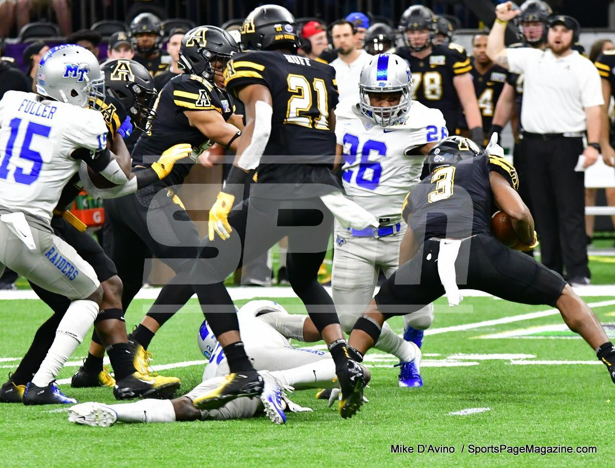 NCAA Football; Appalachian State 43 vs. Middle Tennessee 13 - Photo # (98)