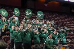 NCAA Women's Basketball AAC 1st Round - #5 USF 61 vs. #12 Tulane 52 (10)