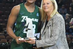 NCAA Women's Basketball AAC 1st Round - #5 USF 61 vs. #12 Tulane 52 (15)