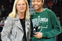 NCAA Women's Basketball AAC 1st Round - #5 USF 61 vs. #12 Tulane 52 (16)