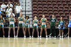 NCAA Women's Basketball AAC 1st Round - #5 USF 61 vs. #12 Tulane 52 (18)