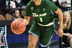 NCAA Women's Basketball AAC 1st Round - #5 USF 61 vs. #12 Tulane 52 (20)