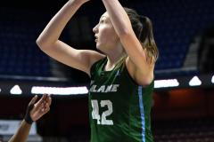 NCAA Women's Basketball AAC 1st Round - #5 USF 61 vs. #12 Tulane 52 (22)