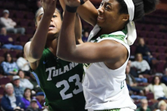 NCAA Women's Basketball AAC 1st Round - #5 USF 61 vs. #12 Tulane 52 (23)